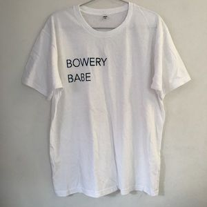 BOWERY BABE t-shirt by BDG home dyed 💛